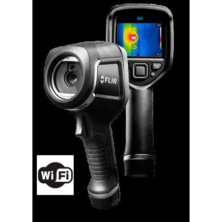 Kamera termowizyjna FLIR E6-XT rozdzielczość 240x180 i MSX