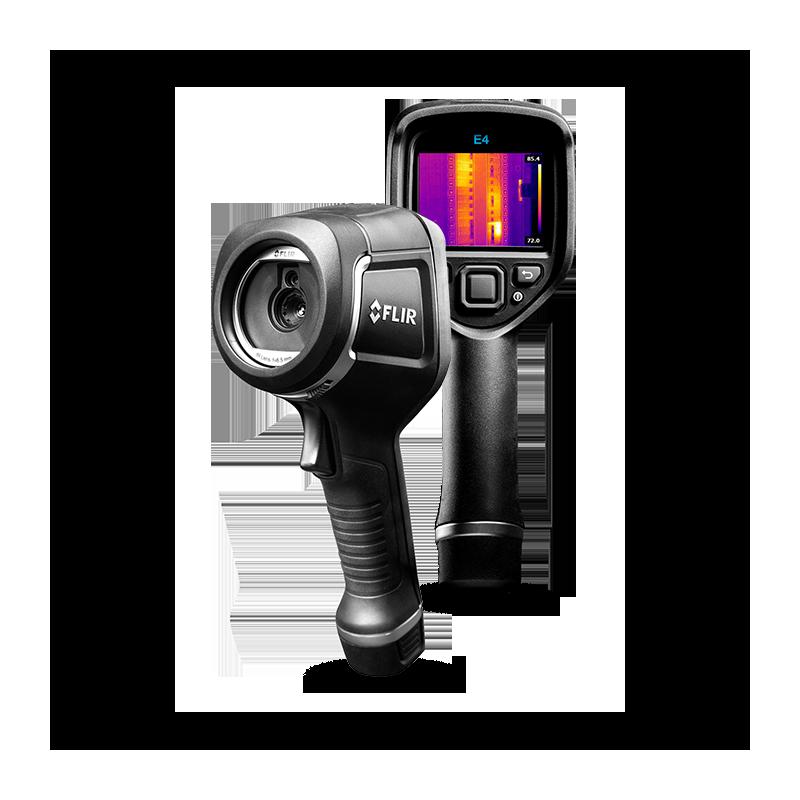 Kamera termowizyjna FLIR E4 rozdzielczość 80x60 MSX i Wi-Fi