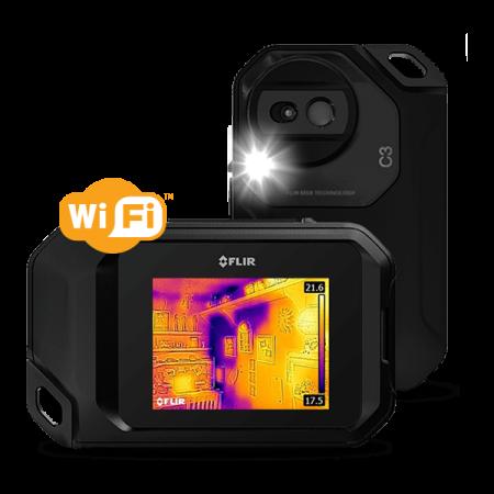 Kamera termowizyjna FLIR C3 rozdzielczość 80x60 MSX i Wi-Fi