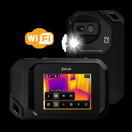 Kamera termowizyjna FLIR C2 rozdzielczość 80x60 MSX i Wi-Fi
