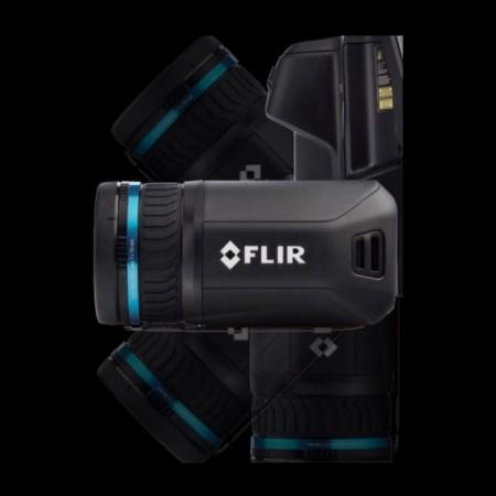 Kamera termowizyjna FLIR T530 320 x 240px pomiar do 1200°C