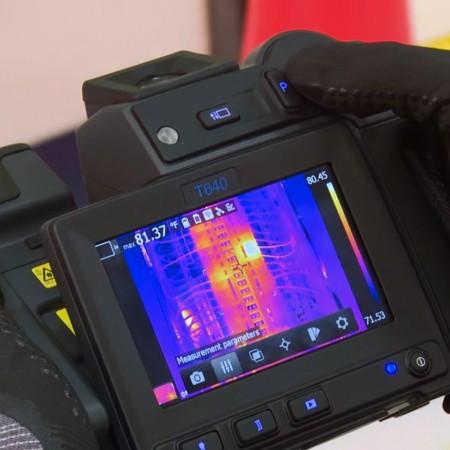 Kamera termowizyjna FLIR T660 pomiar do 2000°C Wi-Fi
